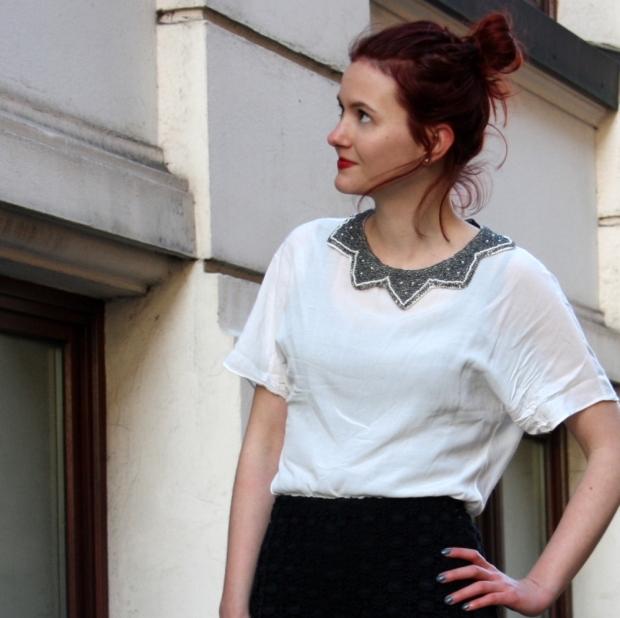 10_lace shorts zara blouse