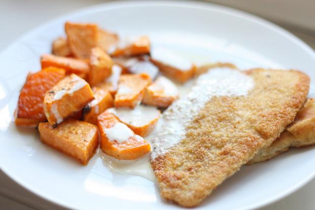 FD6_Schollenfilets mit Süßkartoffeln