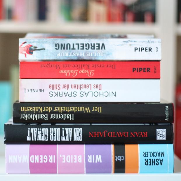 Buchblog_gelesene Bücher August 2015