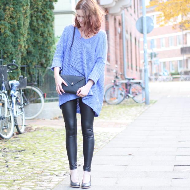 Modeblog_Outfit_Streetstyle_Asos_Herbst_Lederleggins_Pumps_Strickpullover_2
