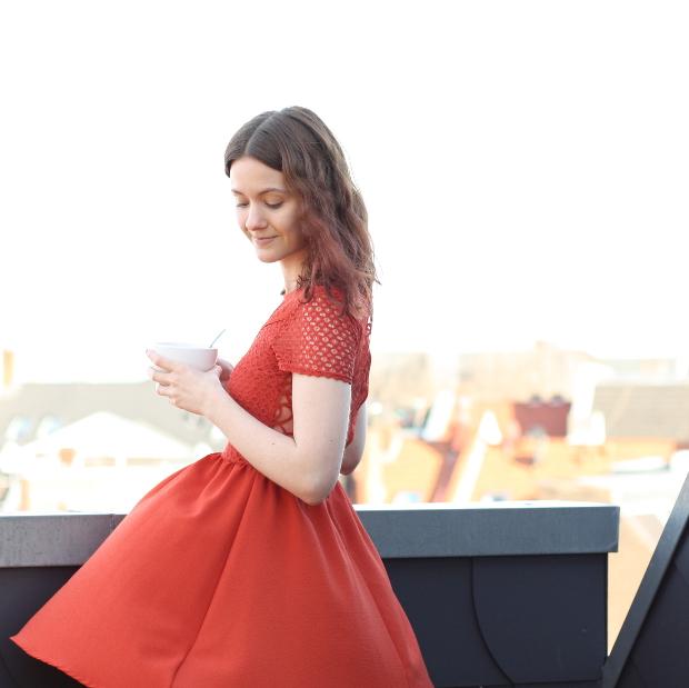 2_Modeblog_Fashionblog_Köln_Outfit_Kleid_rostrot