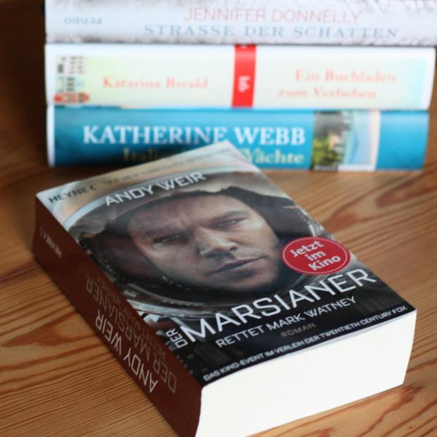 Buchblog_Rezension_Andy Weir_Der Marsianer