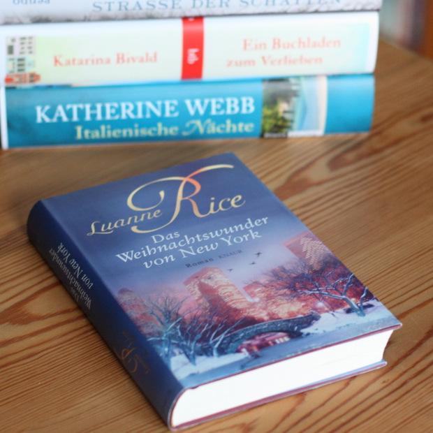 Buchblog_Rezension_Luanne Rice_Das Weihnachtswunder von New York
