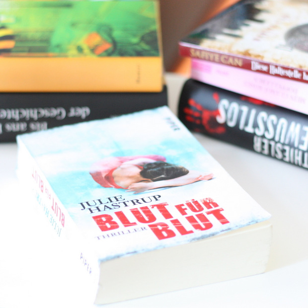 Modeblog_Buchblog_gelesene Bücher_Oktober_2015_Julie Hastrup_Blut für Blut