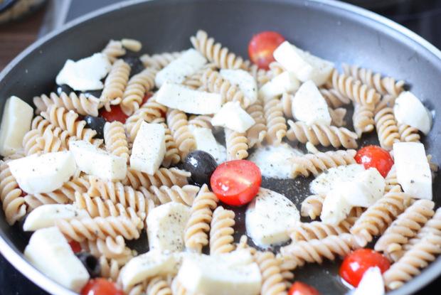 Rezept Pasta Caprese 2