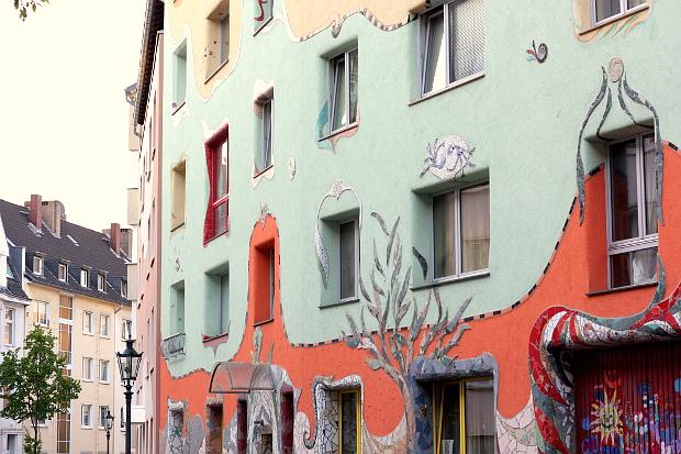 Düsseldorf Hundertwasser Haus Krahestraße