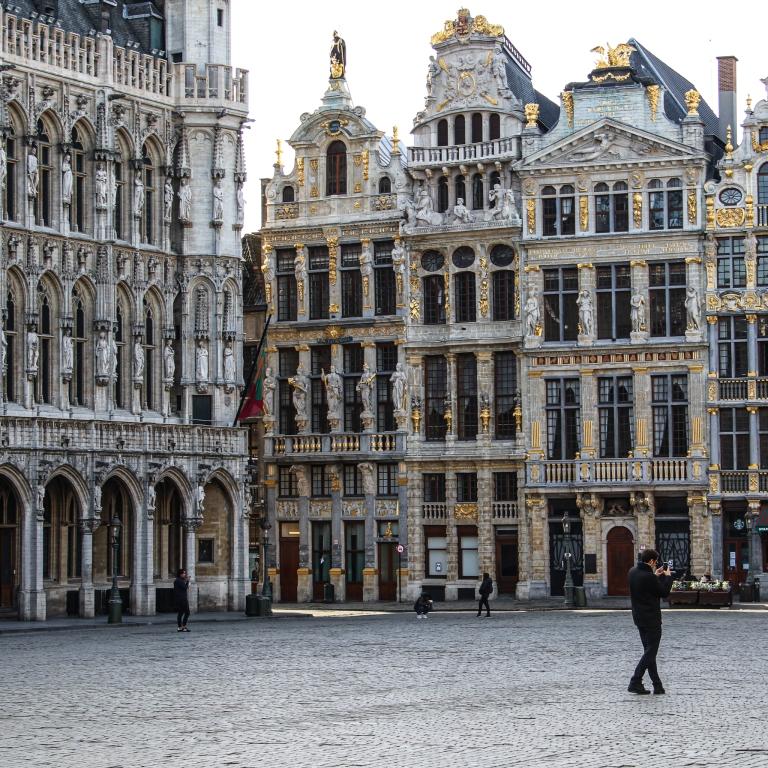 Brüssel_1 Tag vor dem Lockdown_Grand Place 3