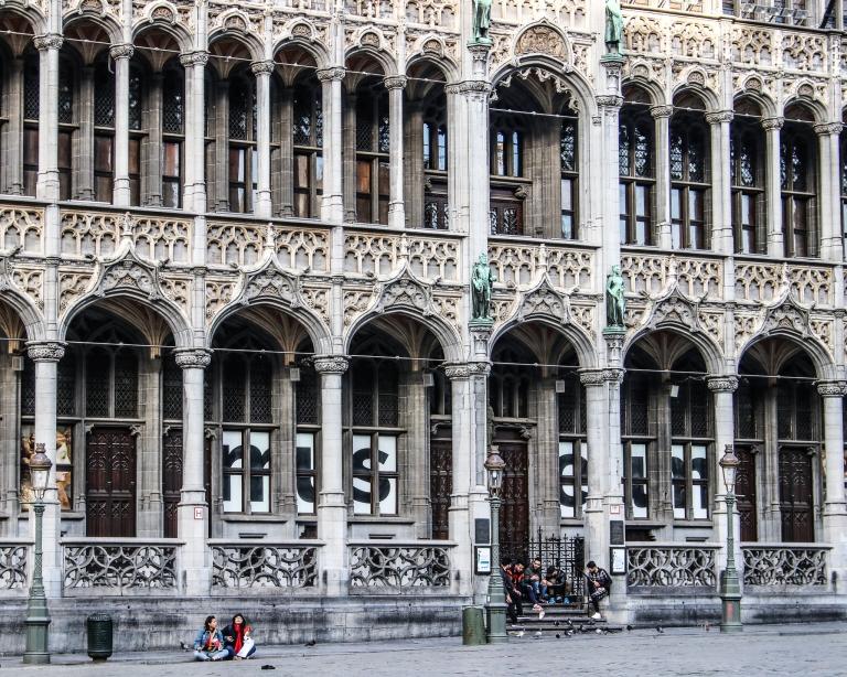 Brüssel_1 Tag vor dem Lockdown_Grand Place 4