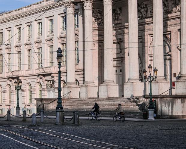 Brüssel_1 Tag vor dem Lockdown_Place Royal